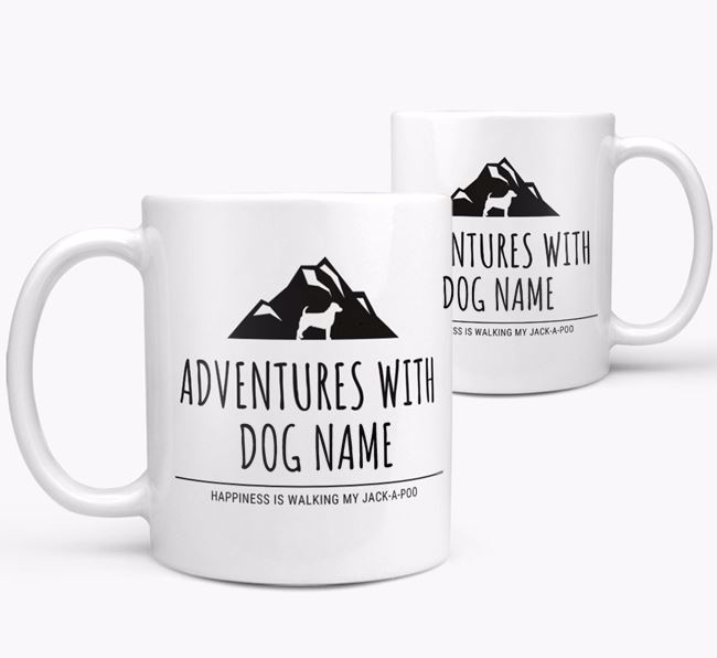 'Adventures with Your Dog' Mug
