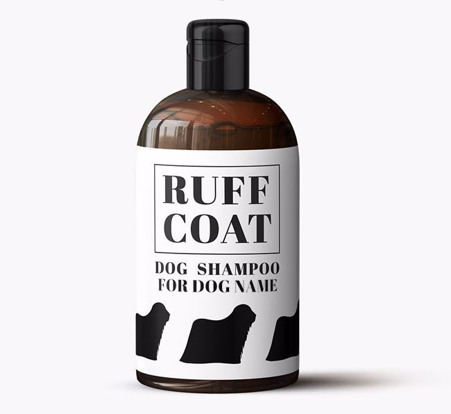 Personalised Dog Shampoo 'Ruff Coat' for Your Dog