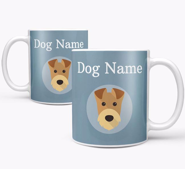Personalized Airedale Terrier Mug