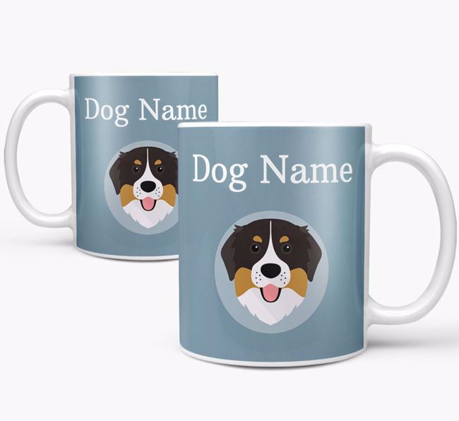 Personalized Bernese Mountain Dog Mug