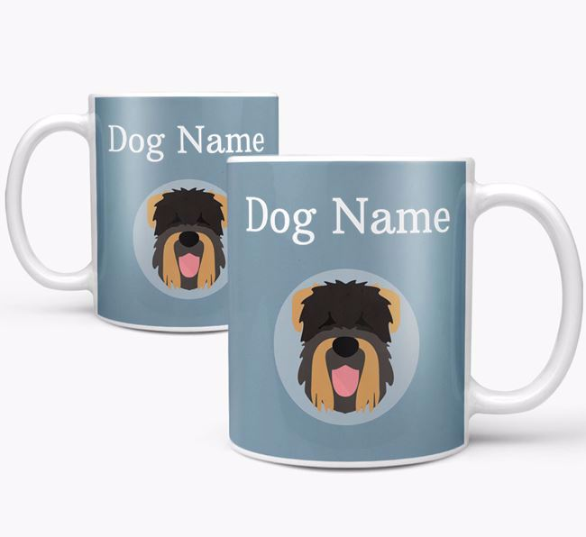 Personalized Black Russian Terrier Mug