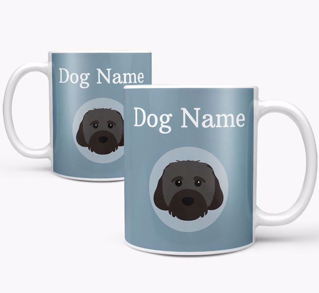 Personalized Cavachon Mug