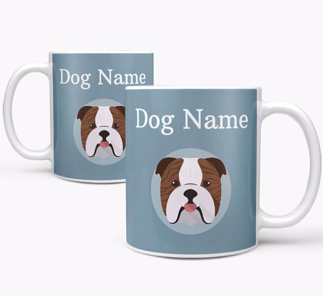 Personalized English Bulldog Mug