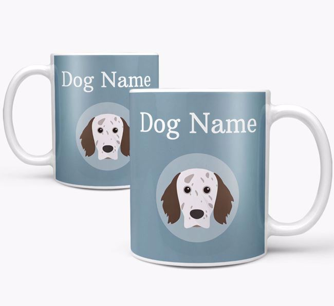 Personalized English Setter Mug