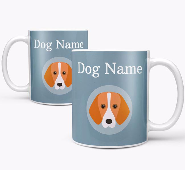 Personalised Foxhound Mug