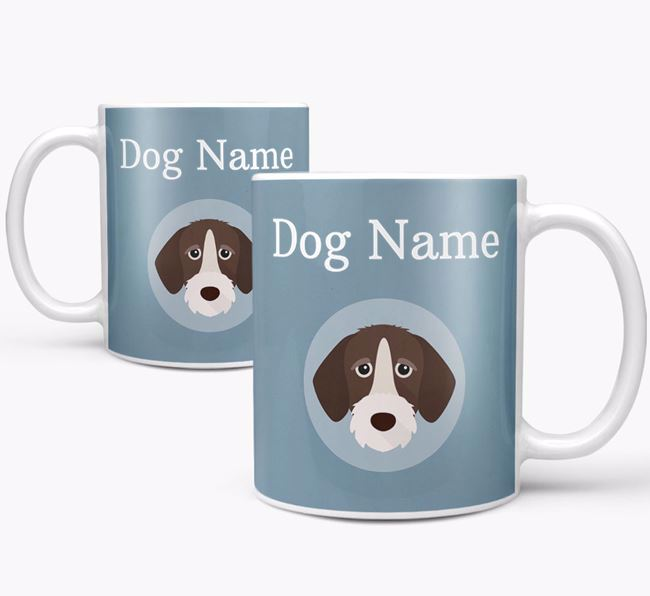 Personalized German Wirehaired Pointer Mug