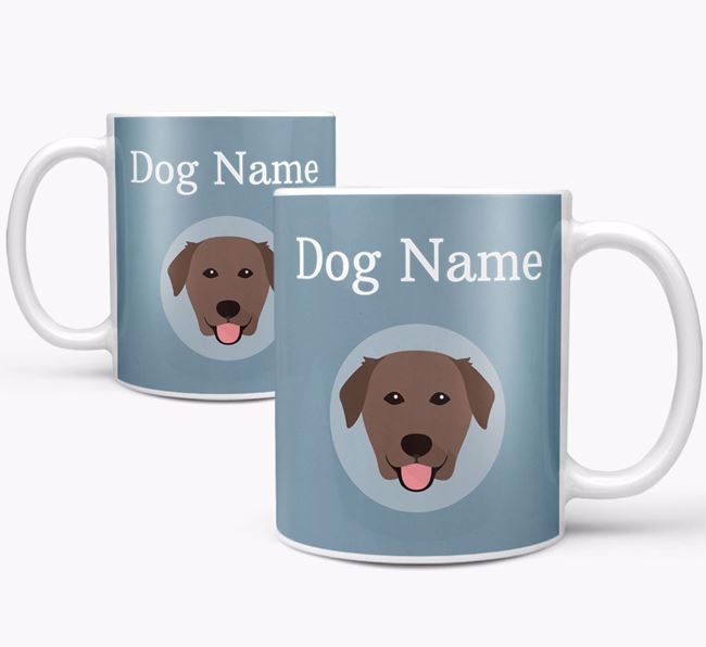 Personalized Golden Labrador Mug