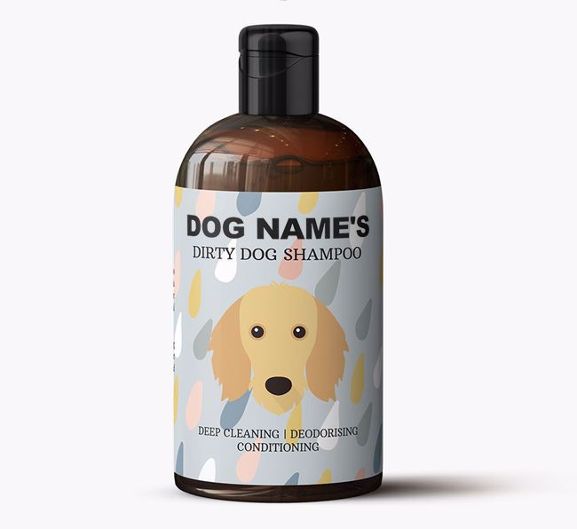 Personalised 'Dirty Dog' Shampoo for Your Dog