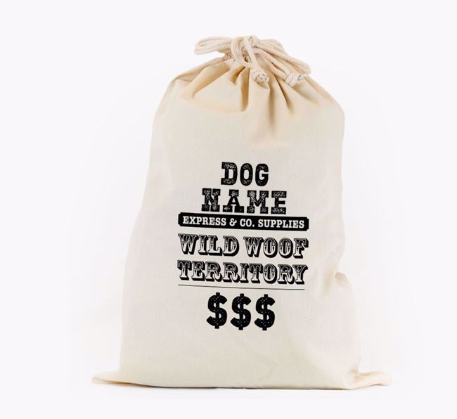 Wild Woof Toy Sack for your Flat-Coated Retriever