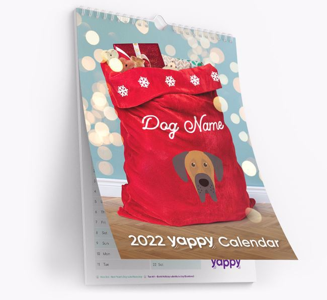 Personalised Your Dog's 2021 Calendar 2nd Edition