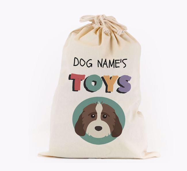 Toy Sack 'Your Dog's Toys' - Personalised for your Cockapoo