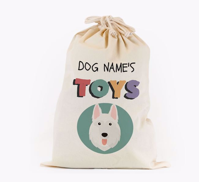 Toy Sack 'Your Dog's Toys' - Personalised for your German Shepherd