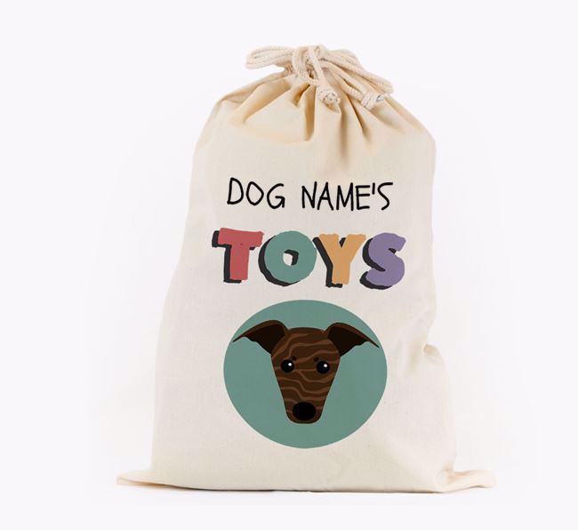 Toy Sack 'Your Dog's Toys' - Personalised for your Greyhound