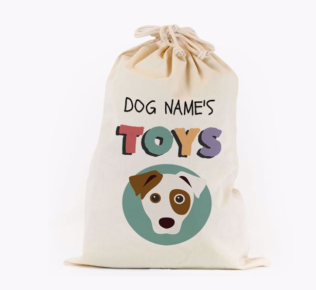Toy Sack 'Your Dog's Toys' - Personalised for your Dog