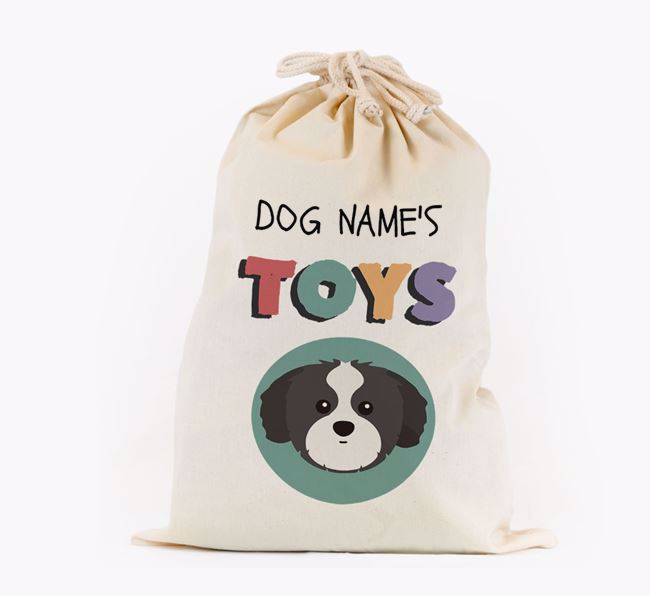 Toy Sack 'Your Dog's Toys' - Personalised for your Shih Tzu