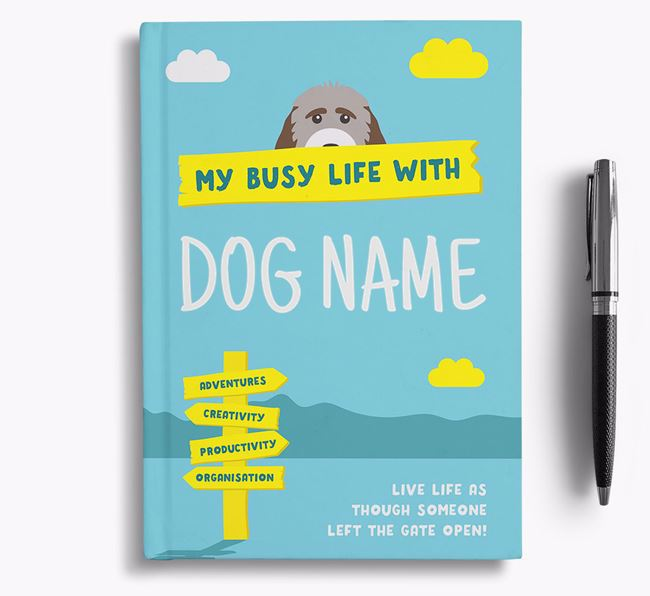 'My Busy Life' - Personalised Cockapoo Notebook