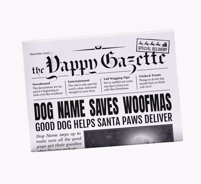 Personalised Monthly Yappy Gazette