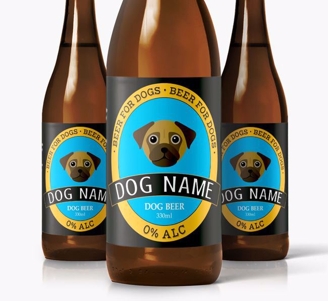 Personalised Chug Beer For Your Dog