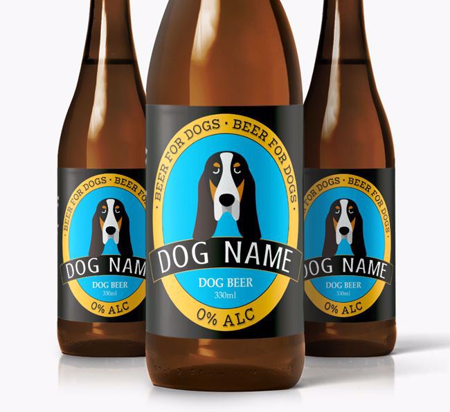 Personalised Grand Bleu Beer For Your Dog