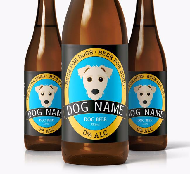 Personalised Jack-a-Poo Beer For Your Dog