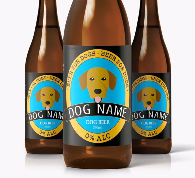 Personalised Springador Beer For Your Dog