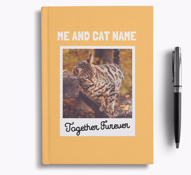 'Together Furever' - Personalised Bengal Notebook