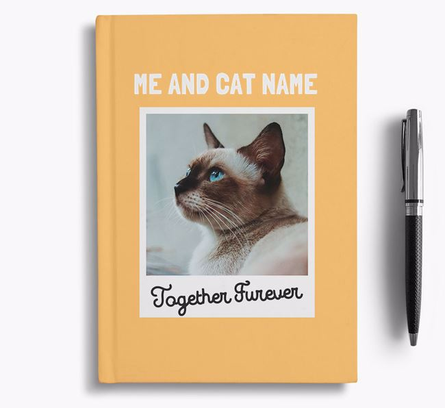 'Together Furever' - Personalised Siamese Notebook