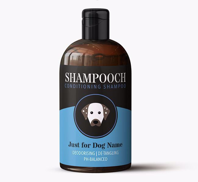 'Shampooch - Just for Your Dog' Personalised Dog Shampoo