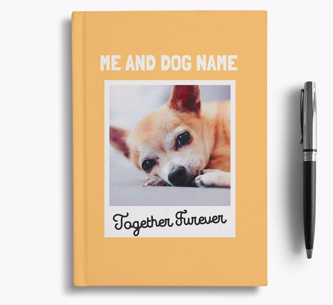 'Together Furever' - Personalised Chihuahua Notebook