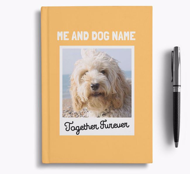 'Together Furever' - Personalised Cockapoo Notebook
