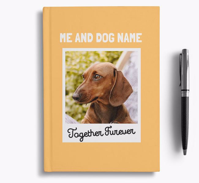 'Together Furever' - Personalised Dachshund Notebook
