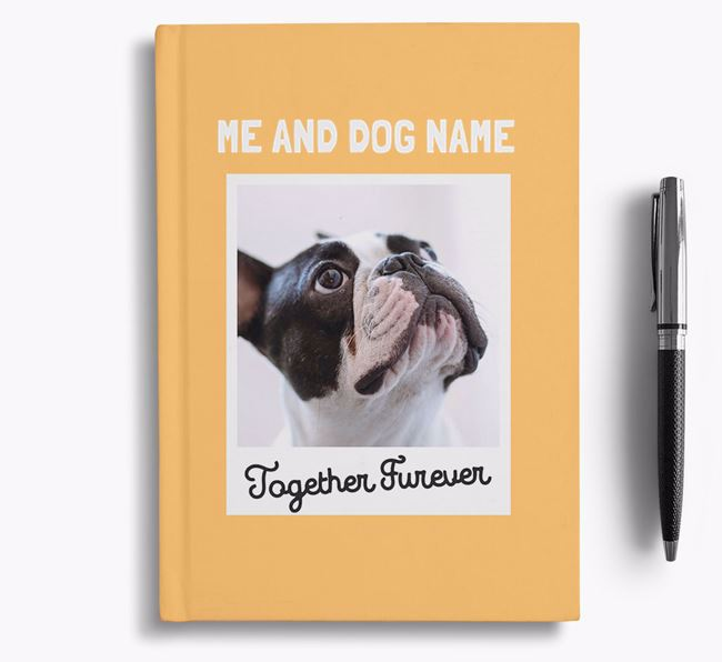 'Together Furever' - Personalised French Bulldog Notebook