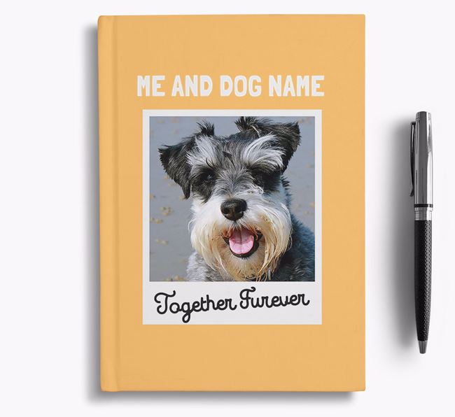 'Together Furever' - Personalised Schnauzer Notebook