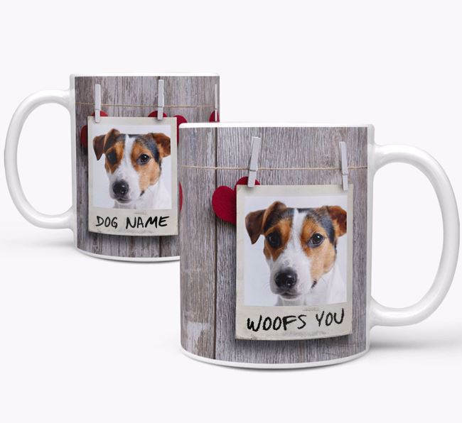 Photo Upload 'Polaroid' Mug - Personalized for your Jack Russell Terrier