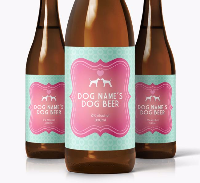 Personalised Dog Beer for Your Dog