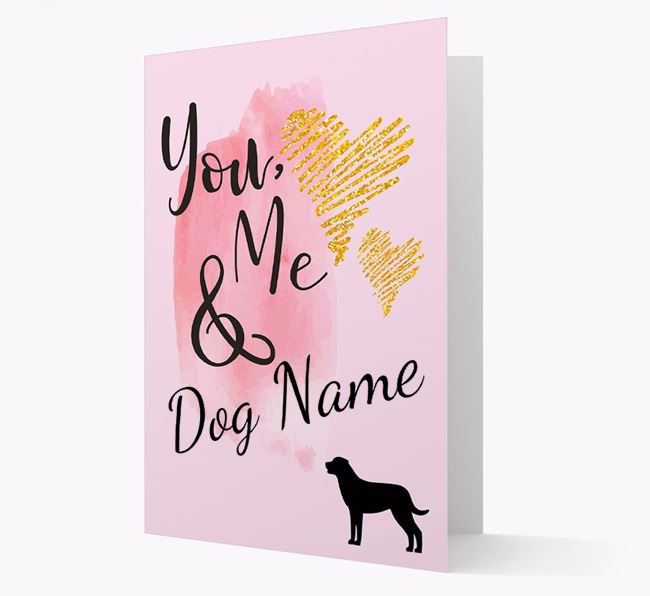 'You, Me & Your Dog' Card