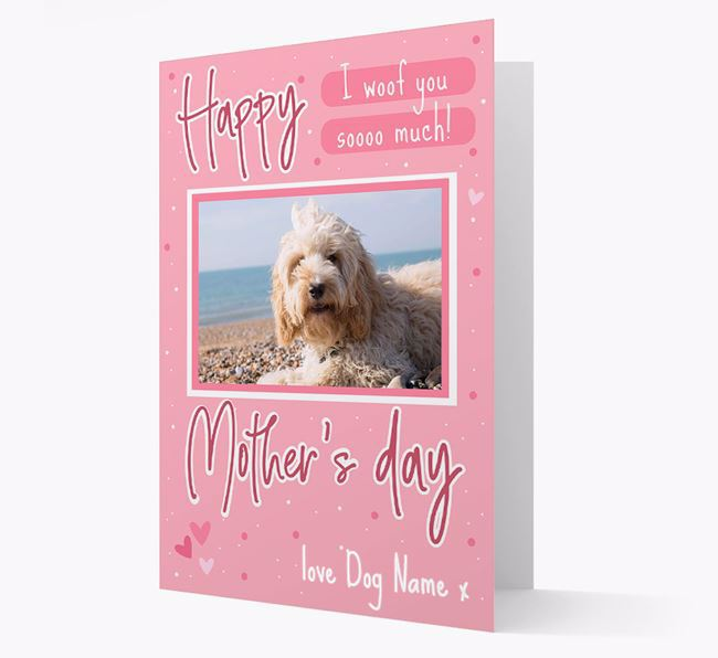 Happy Mother's Day - Personalized Cockapoo Photo Upload Card