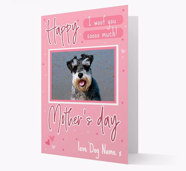 Happy Mother's Day - Personalized Dog Photo Upload Card