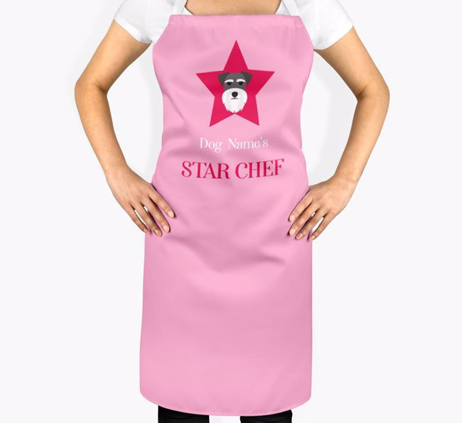 'Your Dog's Star Chef' - Personalized Dog Apron