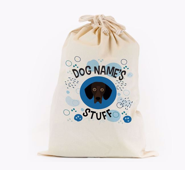 Toy Sack 'Stuff' - Personalised for your Bassador