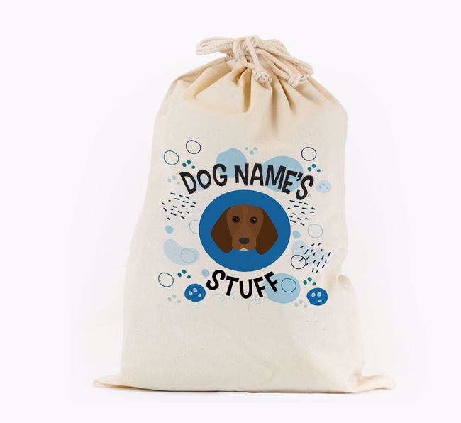 Toy Sack 'Stuff' - Personalised for your Beagle