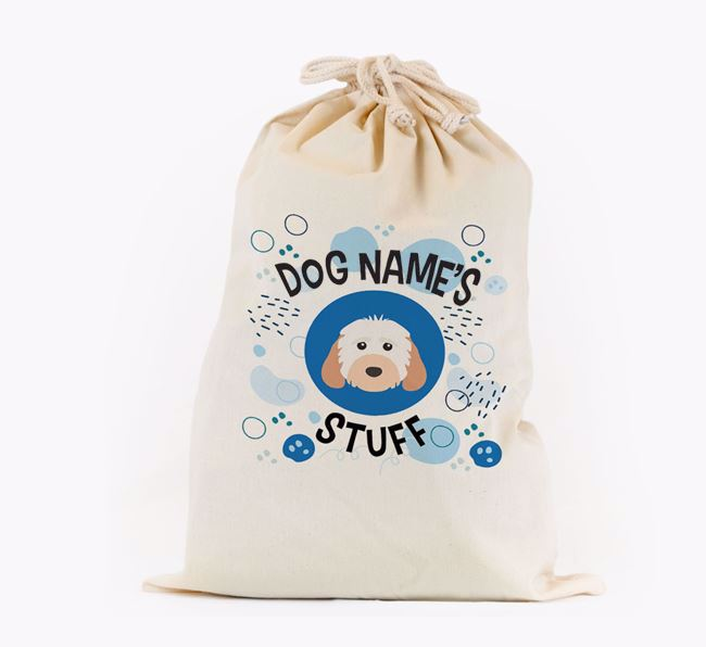 Toy Sack 'Stuff' - Personalised for your Cockapoo