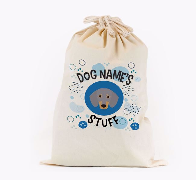 Toy Sack 'Stuff' - Personalised for your Dachshund