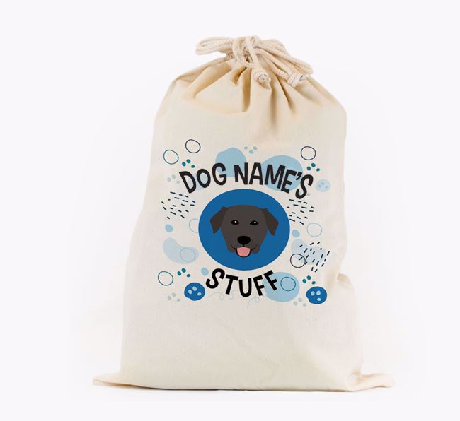 Toy Sack 'Stuff' - Personalised for your Golden Labrador