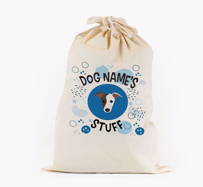 Toy Sack 'Stuff' - Personalised for your Greyhound