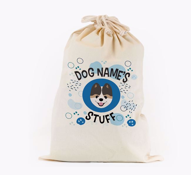 Toy Sack 'Stuff' - Personalised for your Pomeranian