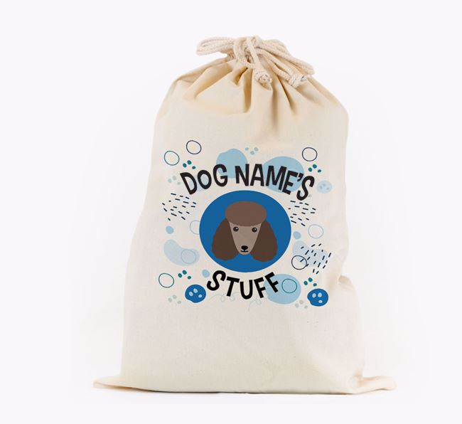 Toy Sack 'Stuff' - Personalised for your Poodle