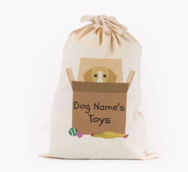 'Your Dog's Toys' - Personalised Bassador Toy Sack