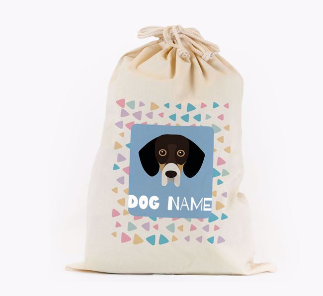Triangle Pattern - Personalised Bassador Toy Sack