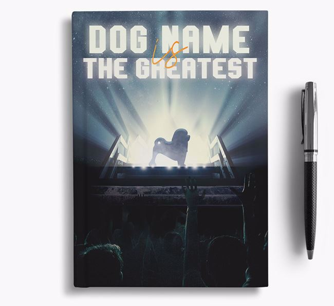 The Greatest - Personalized Löwchen Notebook